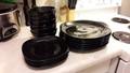 Beautiful Black Dish Set BOWRING