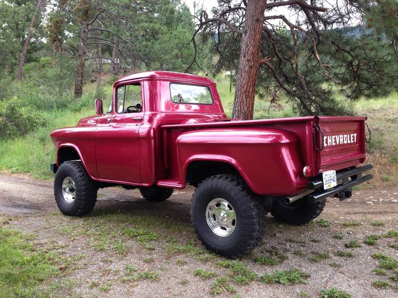 How To Make A 1955 Chevy Truck A 4x4 | Autos Post