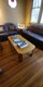 Sofa set and coffee tables