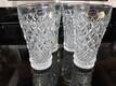 Bohemian crystal barware glasses