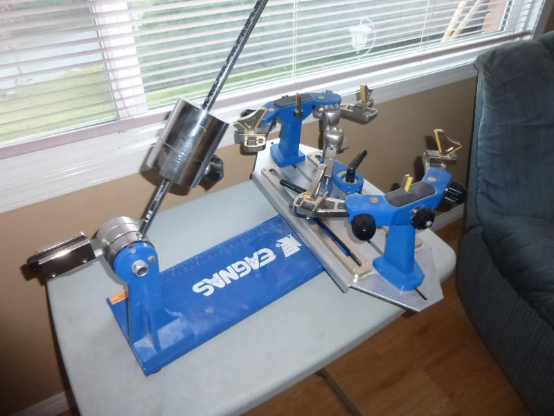 drop weight stringing machine