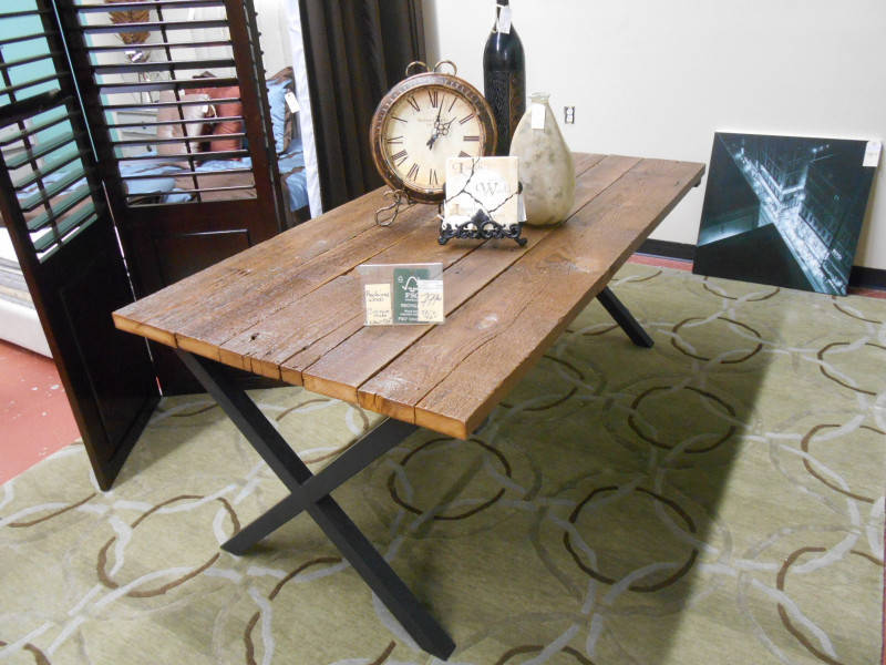 RECLAIMED WOOD DINING TABLE REDUCED Castanet Classifieds