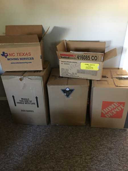 moving boxes and packing paper - castanet classifieds
