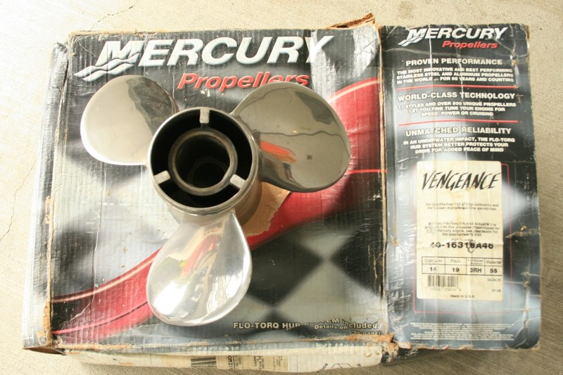 Mercury Vengeance Prop - Castanet Classifieds