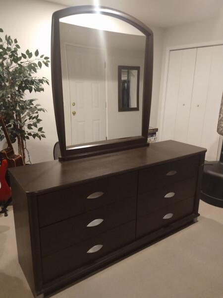 Palliser 6 Drawer Dresser W Mirror Castanet Classifieds