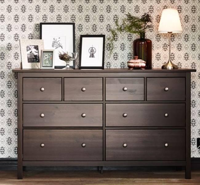 scratched ikea hemnes long dresser castanet classifieds. Black Bedroom Furniture Sets. Home Design Ideas