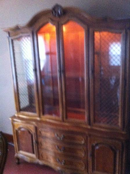 Dining Table Set Buffet And Hutch