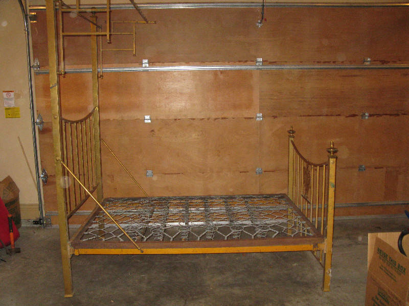 Antique Brass Bed Solid Brass V Castanet Classifieds