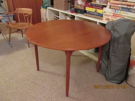 Round Teak Table 43 Dia