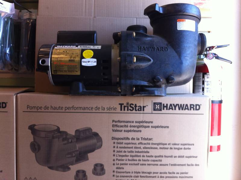 1 2hp Hayward Tristar Pool Pump Castanet Classifieds