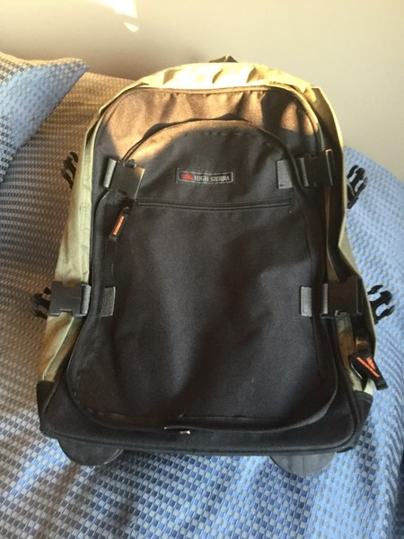 392b4026f5fd Back pack suitcase - Castanet Classifieds