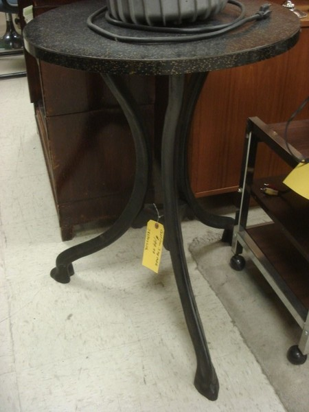 Small Table Windustrial Cast Iron Castanet Classifieds