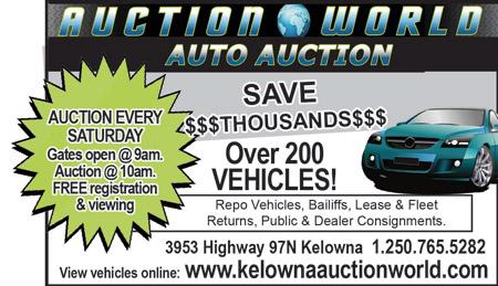 STORE - Auction World (Kelowna)