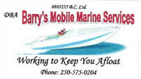 STORE - Barry's Mobile Marine Services