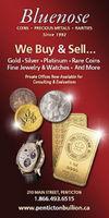 STORE - Bluenose Coins & Precious Metals